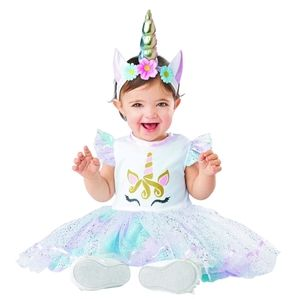 Unicorn  Party Costume Dress